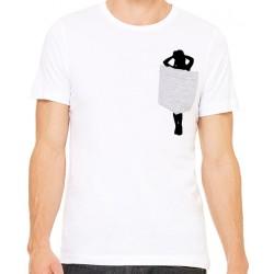 Camiseta chica tapada