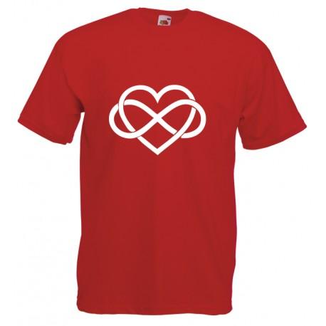Camiseta corazón infinito