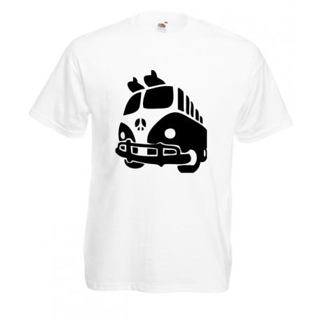 Camiseta furgoneta de la paz