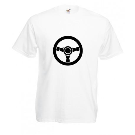 Camiseta volante de rally