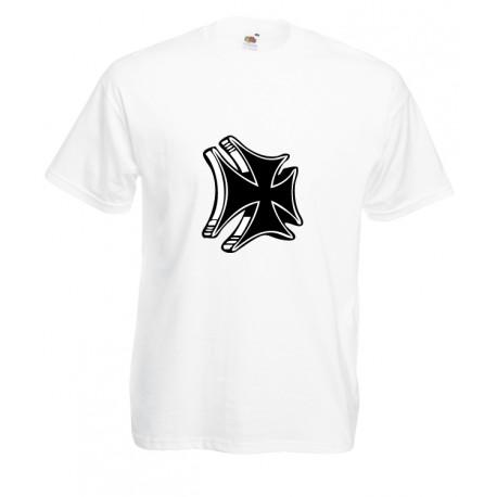 Camiseta cruz chopper