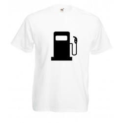 Camiseta surtidor gasolina