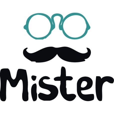 Pegatina Mister