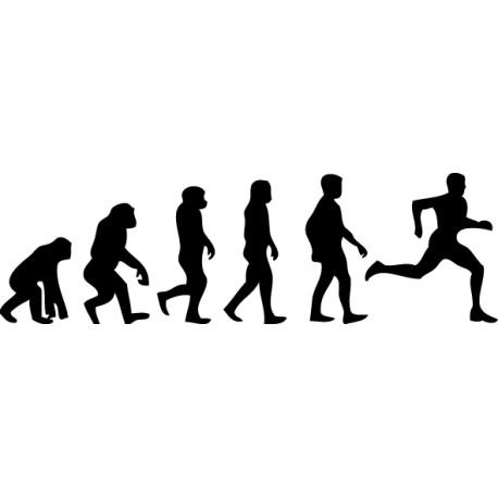 Vinilo evolución running