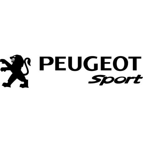 Pegatina Peugeot Sport