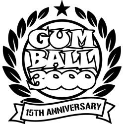 Pegatina Gumball 15 aniversario