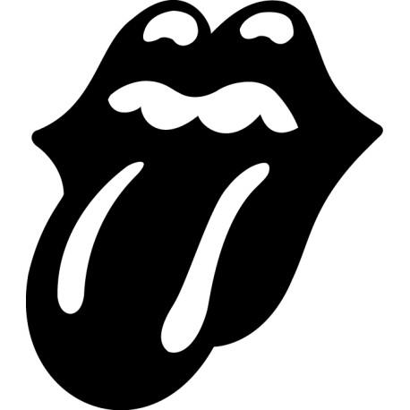 Vinilo adhesivo Rolling Stones logo