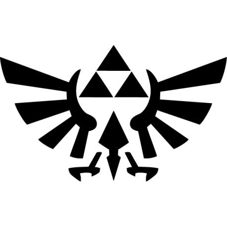 Vinilo Zelda Tri Force
