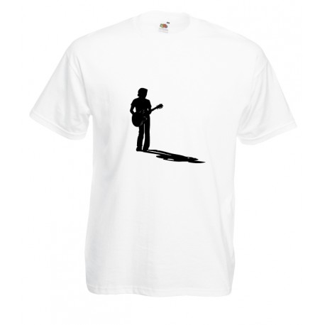Camiseta músico guitarrista