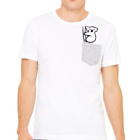 Camiseta bolsillo Koala