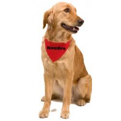 Collar pañuelo perro personalizado