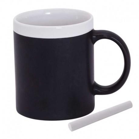 Taza pizarra blanca, tazas para regalar