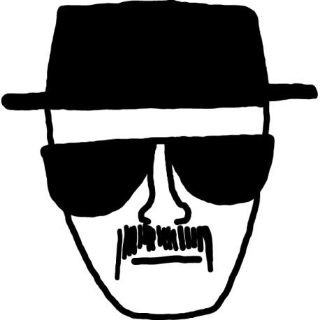 Vinilo Breaking Bad Heisenberg