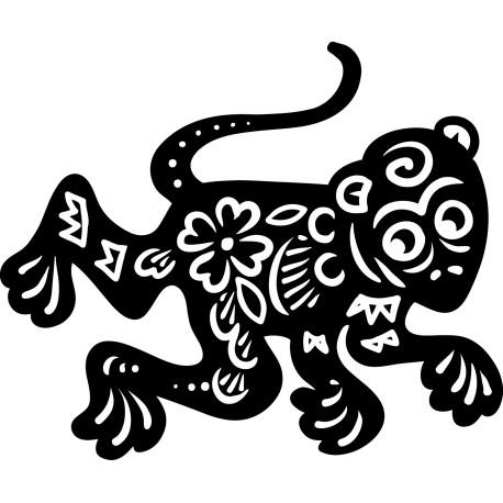 Vinilo decorativo zodiaco chino