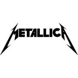 Vinilo decorativo logo Metallica