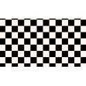 Vinilo pieza de ajedrez o damas