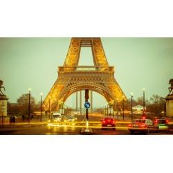 Fotomural Eiffel noche