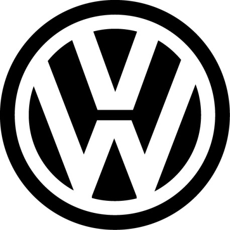Pegatina logo Volkswagen