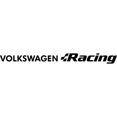 Pegatina Volkswagen Racing