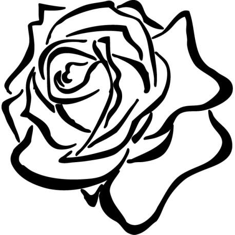 Vinilo flor rosal