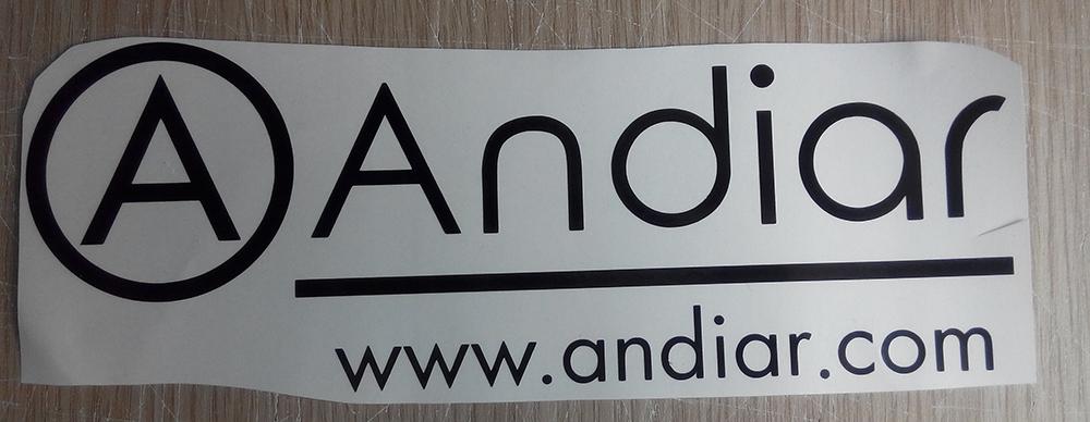 Vinilo de corte Andiar