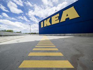metacrilato rótulo IKEA