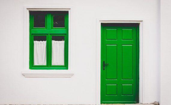 vinilo en las puertas