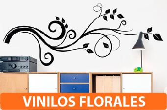 vinilos florales
